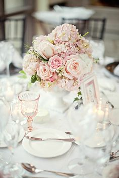 Antique rose reception wedding flowers, wedding decor, wedding flower centerpiece, wedding flower arrangement, add pic source on comment and we will update it. www.myfloweraffair.com can create this beautiful wedding flower look.