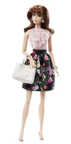 2016  Barbie The Look Sweet Tea Brunette #Mattel