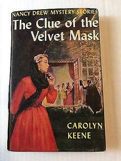 Nancy Drew The Clue Of The Velvet Mask 1953 HC  | eBay