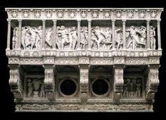 Cantoria - DONATELLO (1433-38) (orig. chiesa di Santa Maria del Fiore, Firenze)