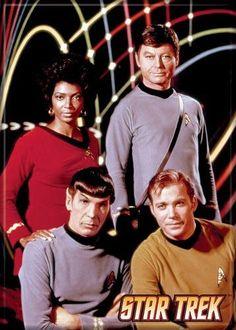 Star Trek Cast Magnet 29451ST @ niftywarehouse.com
