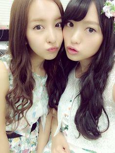 Tomochin & Kitarie #NGT48 #AKB48