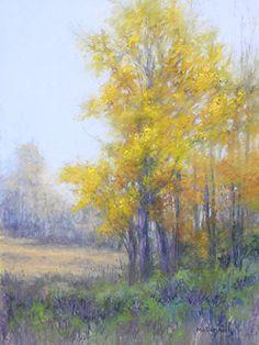 """Autumn Splendor#3 by Kathy McDonnell Pastel ~ 16"""" x 12"""""""