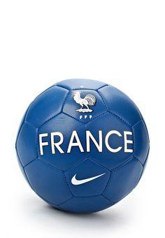 Мяч футбольный Nike / Найк для мужчин. Цвет: синий. Сезон: Весна-лето 2014. С бесплатной доставкой и примеркой на Lamoda. http://j.mp/1nM7pjJ