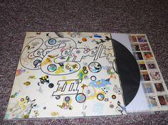 Led Zeppelin III 3 Wheel Die Cut Cover Vinyl by VinylRecordBarn
