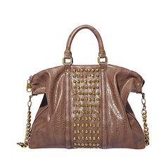 Love this brown bag.