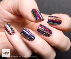 work / play / polish #nail #nails #nailart