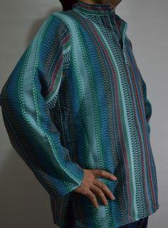 Medieval Historical shirt ottoman arabic ethnic sultan harem striped shirt  #Handmade #historical