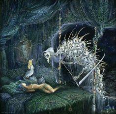 """Death and the Empress of the Galaxy"", Barbara Sobczyńska, 2014"