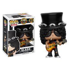Guns N' Roses Slash Pop! Vinyl Figure - Funko - Guns N Roses - Pop! Vinyl Figures at Entertainment Earth