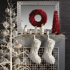 Trim the tree, outfit your merry mantel & decorate with dazzle with the help of the new Holiday Decorating Shop #zgallerie