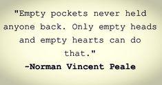 Wise man #nvp #normanvincentpeale #prosperity #prosperitymindset #thinkbig #heart #wealth #wealthsecrets