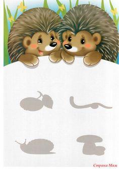 """Oktatási Game """"talál egy pár"""" -, hogy fejlesszék a baba otthon (0-tól 7 éves korig) - Ország Mom Little Einsteins, Printable Crafts, School Themes, Forest Animals, Animals For Kids, Fun Learning, Cute Pictures, Hedgehog, Kindergarten"""