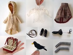 doll accessories by takiyaje, via Flickr