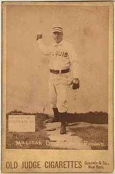 1 photographic print on cabinet card mount : albumen. Casey At The Bat, Collector Cards, Boston Red Sox, New York, Baseball Cards, History, Portrait, St Louis, Sports