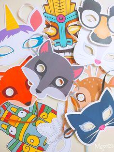 + de 50 masques gratuits à imprimer !