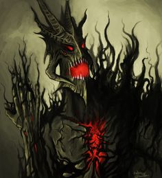 Consumed by Darkness by Callthistragedy1 on DeviantArt