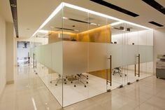 KAZE Interior Design Studio in Ho Chi Minh City provides service for luxury hospitality, F&B, residence and office interior design projects. Corporate Office Design, Office Space Design, Modern Office Design, Workspace Design, Office Interior Design, Office Interiors, Design Interiors, Glass Partition Designs, Glass Cabin