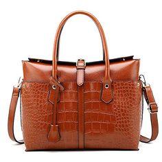 Women Genuine Cowhide Leather Totes Handbag Lady Simple Soft Satchels Bag High Capacity Waterproof Shopping Bags Crossbody
