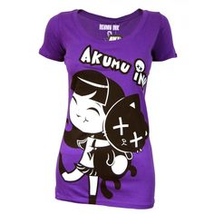Purpleshirts | Home › Womens › T-shirts › Akumu Ink › Akumu Ink Ladies Jadore ...