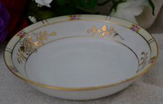 Hand Paited Nippon Bowl Vintage Nippon China by SimplyChina, $10.00