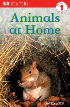 Take a warm and fuzzy look at animal homes: Animals at Home on wegivebooks.org