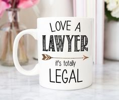 Lawyer Mug Lawyer Gift Attorney Gift Funny Lawyer Mug Law School Gift Lawyer Graduation Gift G Lawyer Humor, Funny Lawyer Quotes, Lawyer Logo, Tax Lawyer, Law School Quotes, Law School Humor, Law And Justice, Lady Justice, Lawyer Gifts