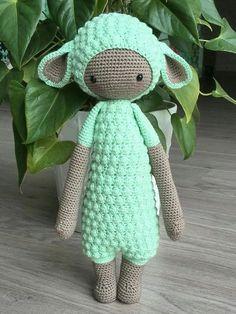LUPO the lamb made by Bregje Z. / crochet pattern by lalylala