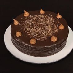 Sweets Recipes, Cake Recipes, Cooking Recipes, Geek Cake, Cake Designs, Love Food, Cake Decorating, Yummy Food, Chocolate