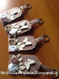 briciole di gioia: Porta chiavi shabby
