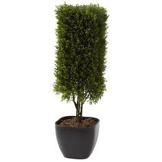 19' Artificial Cedar Column Topiary - (Indoor/Outdoor) * For more information, visit image link.