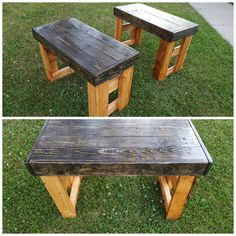 Indoor/Outdoor Benches Outdoor Benches, Indoor Outdoor, Custom Woodworking, Table, Furniture, Home Decor, Decoration Home, Room Decor, Tables