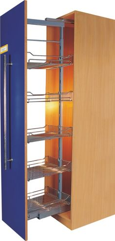 Just cool- Vertical space is always wasted, and this creates more storage