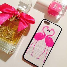 Pink Flamingo iPhone 5/5s Case