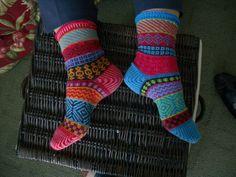Ravelry: Bazaar Socks pattern by Priscilla Gibson-Roberts