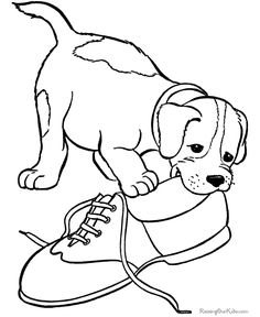 Pet Puppy Coloring Pages From RaisingOurKids Raisingourkids