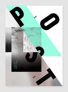 Air poster est né de l'envie de produire ponctuellement des formes hors du cadre de la commande, de donner corps à des idées, des envies, pour le plaisir de la recherche graphique et plastique, pour prendre l'air.