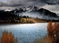 October Morning on Dillon Lake in the Colorado Rockies  © Jim Hill