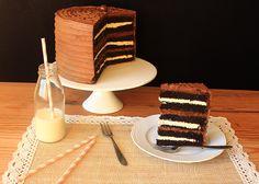 Torta de chocoalte y marshmallows/ Chocolate marshmallows cake Chocolate Marshmallow Cake, Chocolate Marshmallows, Le Cordon Bleu, Tiramisu, Pie, Cakes, Ethnic Recipes, Desserts, Food
