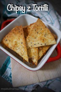Moja kulinarna przygoda: Chipsy serowo - ziołowe z tortilli