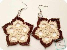 [Free Pattern] Beautiful, Elegant, And Nicely Sized Mini Mandala Earrings You Will Wear Everyday