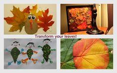 16 ideeën om te maken met bladeren