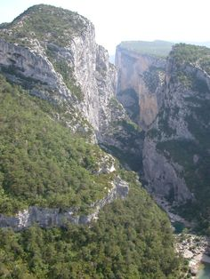 The Gorge du Verdon from Point Sublime