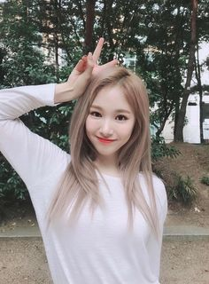 Image may contain: one or more people, tree, outdoor, closeup and nature Kpop Girl Groups, Korean Girl Groups, Kpop Girls, K Pop, Close Up, Gfriend Sowon, Yuehua Entertainment, Soyeon, Mamamoo