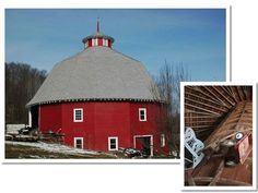 Check out the 16-sided barn in Harrison County, #Ohio.
