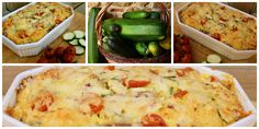 Eat Your Veg | Cherry Tomato, Courgette & Cheese Bread & Butter Pudding