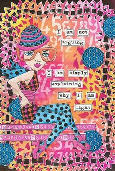 Sara Belmont-Kleingeld on THE DYAN REAVELEY SOCIETY OF ART JOURNALING Gateway Group. Trying out my new Dylusions ink pads, stencil and die cuts...