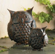 Owl Figurine by MyOwlBarn, via Flickr