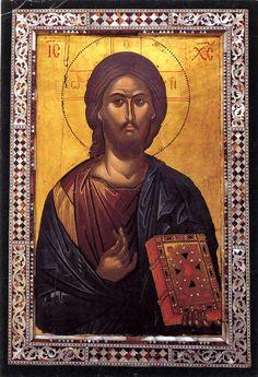 Monastero di Iveron Athos, XVI sec. Married With Children, Son Of God, Orthodox Icons, Byzantine, Spas, Fresco, Jesus Christ, Mona Lisa, Artwork