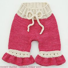 Ravelry: Convertible Baby Bloomers pattern by Carina Spencer